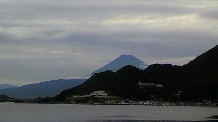 彼岸の富士
