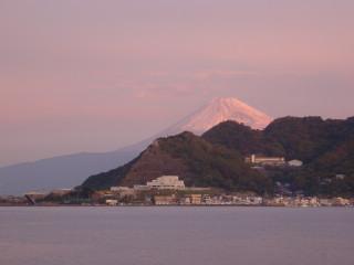 20日の朝富士