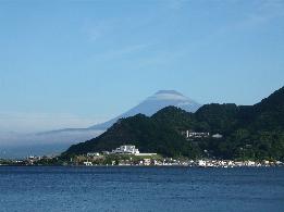 8月27日午前5時の富士
