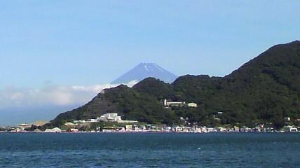 梅雨明けの富士 西伊豆民宿ニュー白坂